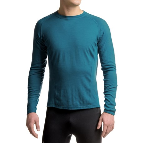 SmartWool NTS 195 Base Layer Top - Merino Wool, UPF 35, Long Sleeve (For Men)