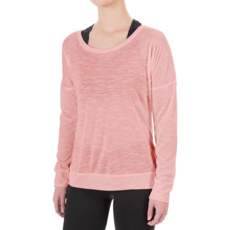 Balance Collection Impulse Shirt - Scoop Neck, Long Sleeve (For Women)