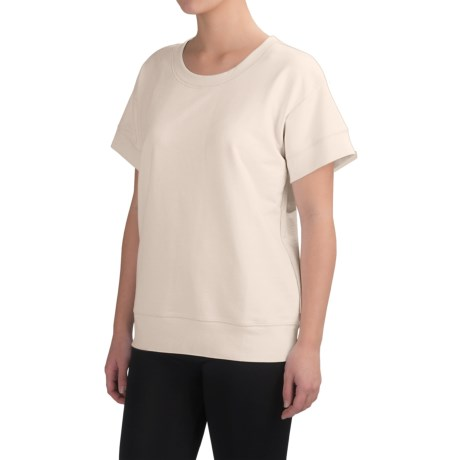 Yummie by Heather Thomson Baby French Terry Box T-Shirt - Short Sleeve (For Women)