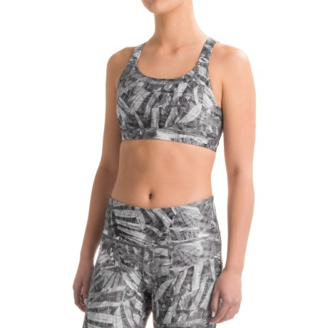 Mondetta Strappy Back Sports Bra - Medium Impact (For Women)