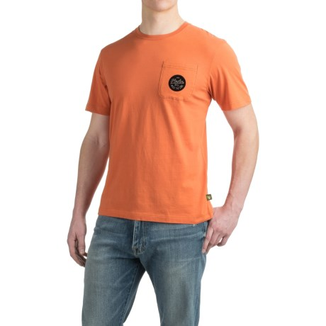 Howler Brothers Script Pocket T-Shirt - Short Sleeve (For Men)