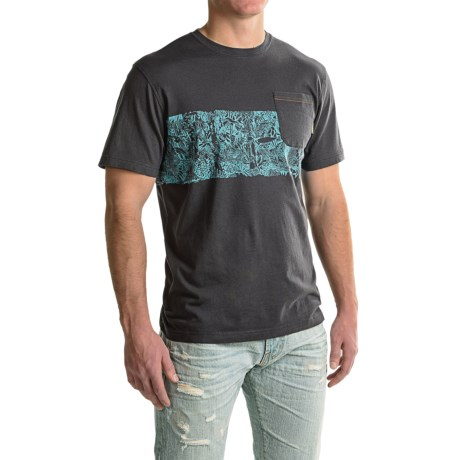 Howler Brothers Canopy Pocket Shirt - Crew Neck, Short Sleeve (For Men)