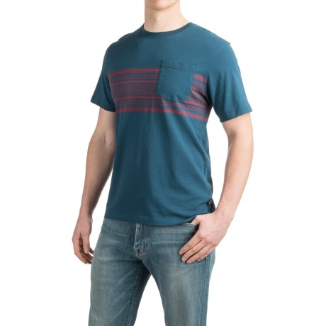 Howler Brothers Pinata Stripe T-Shirt - Short Sleeve (For Men)