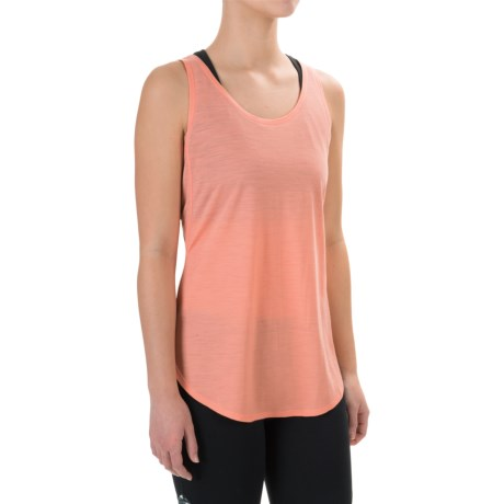 Ibex W2 Sport Tunic Tank Top - Merino Wool (For Women)