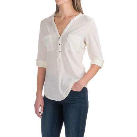 Ibex OD Shanti Henley Shirt - Merino Wool, Long Sleeve (For Women)