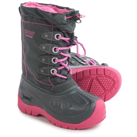 Kodiak Glo Cali Pac Boots - Waterproof, Insulated (For Little and Big Girls)