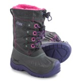 Kodiak Upaco Cali Pac Boots - Waterproof, Insulated (For Little and Big Girls)