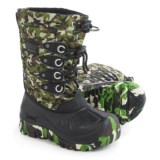 Kodiak Glo Charlie Snow Boots - Waterproof, Insulated (For Little and Big Boys)