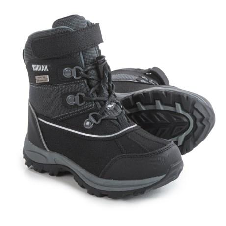 Kodiak Mason Lo-Cut Snow Boots (For Little and Big Boys)