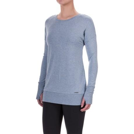 Mondetta Back Zip Sweatshirt (For Women)