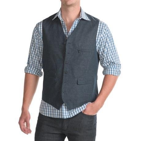 Kroon Hootie Vest - Linen-Cotton (For Men)