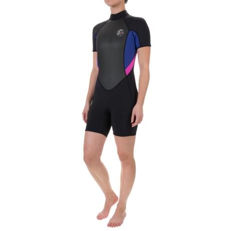 O'Neill 's Bahia Spring Wetsuit - 2mm, Short Sleeve (For Women)