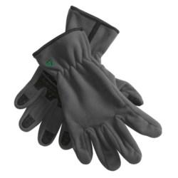 Jacob Ash Fleece Gloves (For Men and Women)
