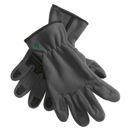 Jacob Ash Fleece Gloves (For Men and Women)