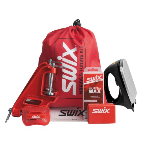 Swix Ultimate Alpine Ski Tuning Kit