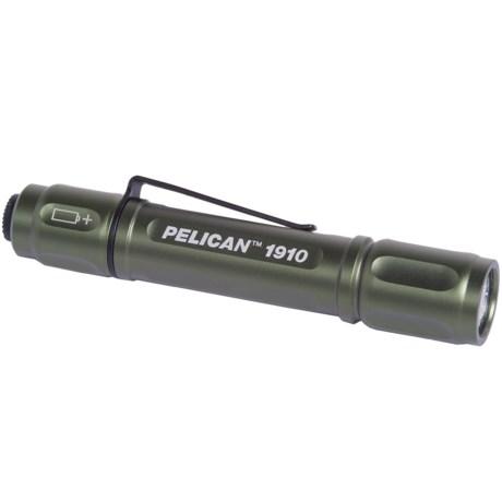 Pelican Products 1910 LED Aluminum Flashlight - 72 Lumens