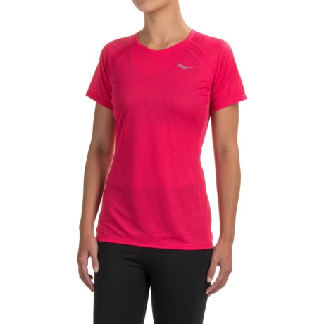Saucony Hydralite Shirt - Short Sleeve (For Women)