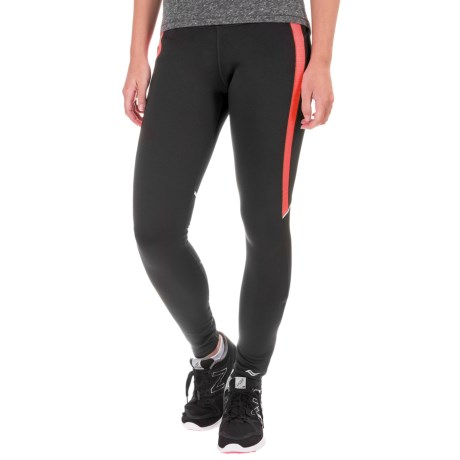 Saucony Omni LX Fleece Leggings (For Women)