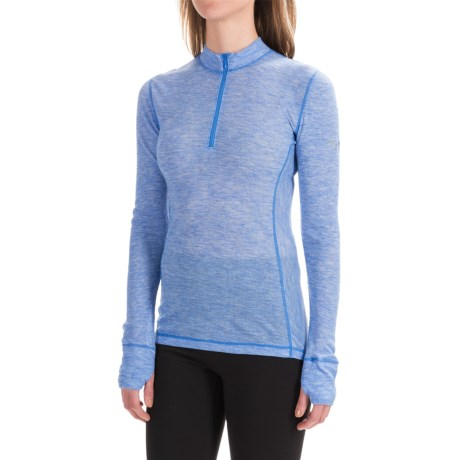Saucony Ridge Runner PrimaLoft® Base Layer Top - Zip Neck, Long Sleeve (For Women)