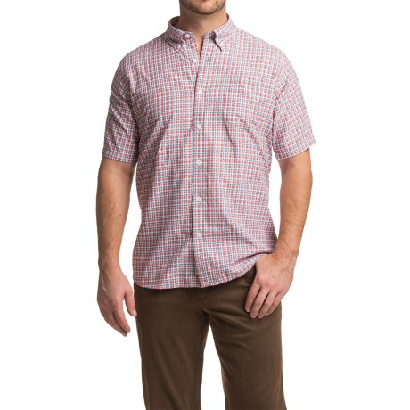 Mountain Khakis Spalding Gingham Shirt - Short Sleeve (For Men)