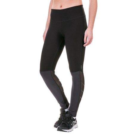 Mondetta Color-Block Capri Leggings (For Women)