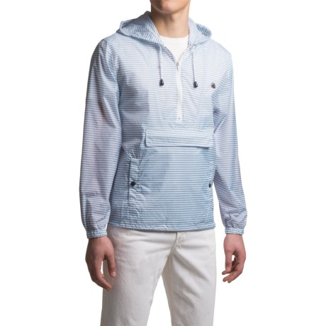 Southern Proper Striped Labrador Jacket - Zip Neck (For Men)