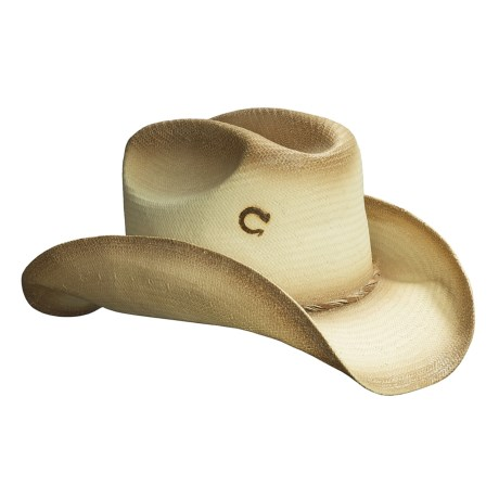 Charlie 1 Horse Beat Down Western Straw Hat (For Men and Women)