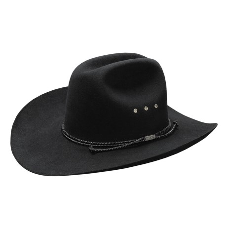 Stetson Tyler 4X Beaver Hat - Western (For Men and Women)