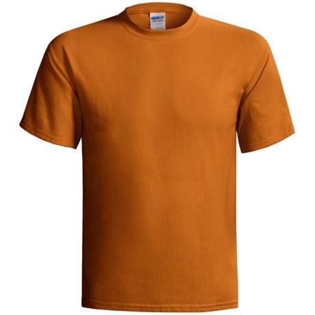 Gildan Cotton T-Shirt - 6.1 oz., Short Sleeve (For Men and Women)