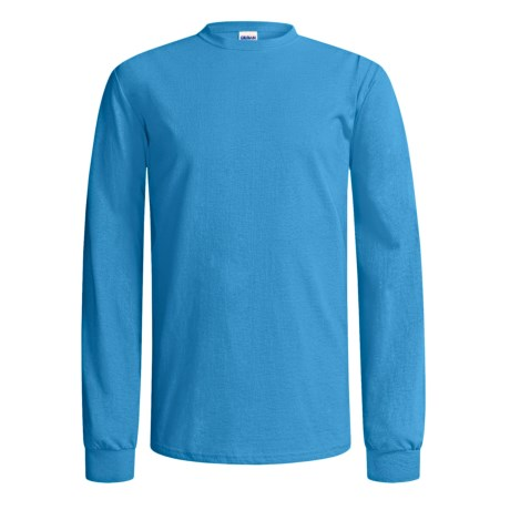 Gildan Cotton T-Shirt - Long Sleeve (For Men and Women)