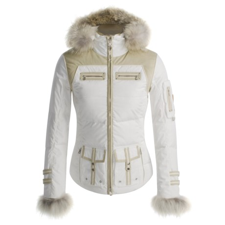 Bogner Sava-P Down Jacket - Coyote Trim, 564 Fill Power (For Women)