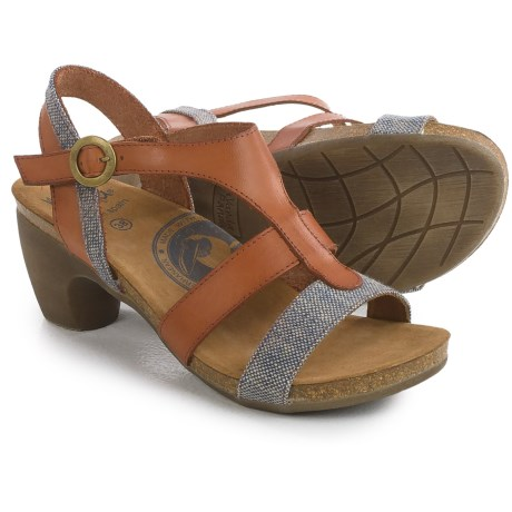Wanda Panda T-Strap Sandals - Leather (For Women)