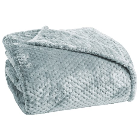 Berkshire Blanket Plush Honeycomb Blanket - Twin