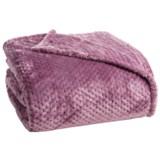 Berkshire Blanket Blanket Plush Honeycomb Blanket - King