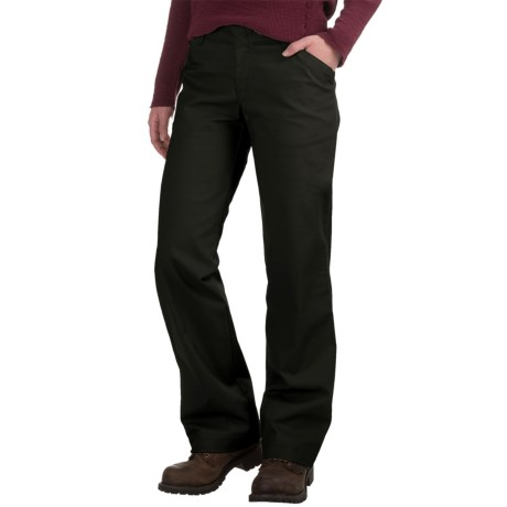 Dickies Stretch Twill Pants - Relaxed Fit (For Women)