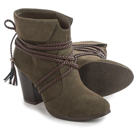 Yoki Romey Ankle Boots - Vegan Leather (For Women)