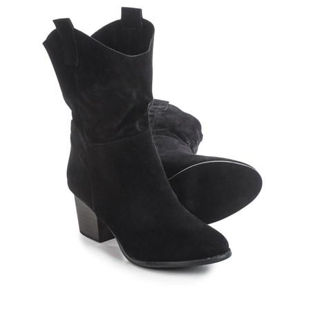 Yoki Mia Fold-Over Ankle Boots - Vegan Leather (For Women)