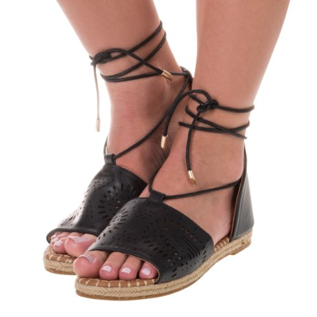 Yoki Iric Espadrille Sandals - Vegan Leather (For Women)