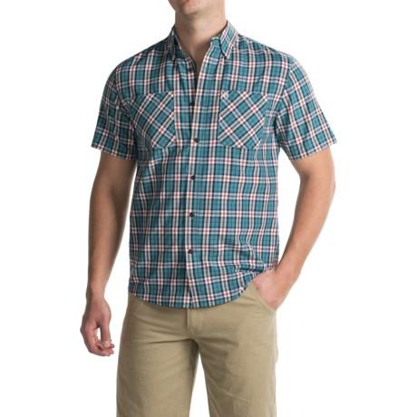 Coleman Plaid Guide Shirt - UPF 30+, Short Sleeve (For Men)