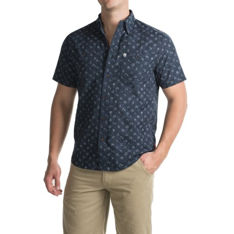 Coleman Printed Guide Shirt - UPF 30+, Short Sleeve (For Men)