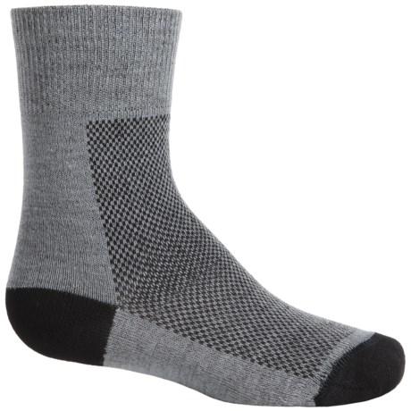 Wrightsock CoolMesh® Socks - Crew (For Big Kids)