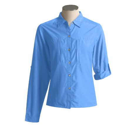 ExOfficio Dryflylite Shirt - Long Sleeve (For Women)