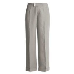 Bogner Fabienne Dress Pants - Linen, Wide Leg (For Women)