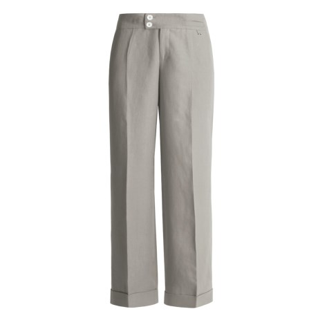 Bogner Fabienne Dress Pants - Linen, Wide Leg (For Women)