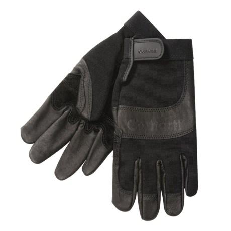 Carhartt Pigskin Utility Gloves - Leather (For Men)