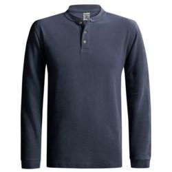 Carhartt Textured Knit Henley Shirt - Long Sleeve (For Men)