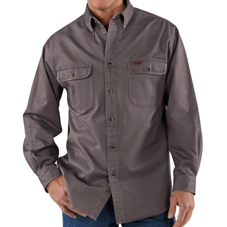 Carhartt Heavyweight Cotton Shirt - Factory Seconds (For Tall Men)