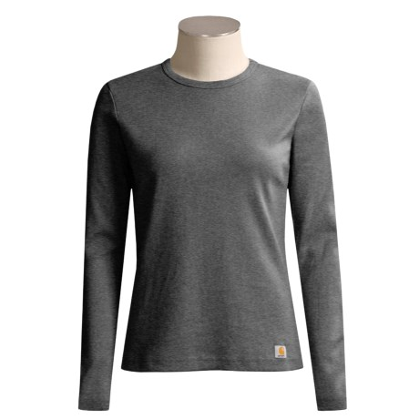 Carhartt Cotton T-Shirt - Long Sleeve (For Women)