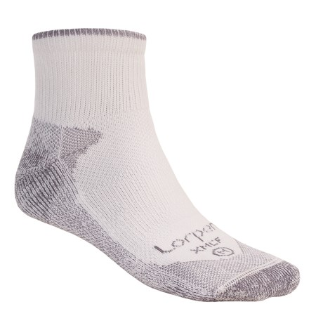 Lorpen Multi-Sport CoolMax® Socks - Modal Lining, Quarter Crew (For Men and Women)