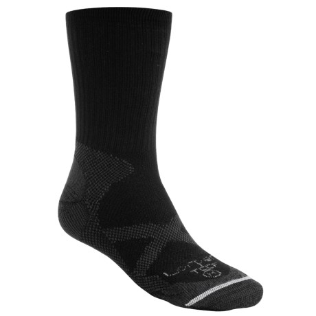 Lorpen CoolMax® Thin Trekking Socks - Crew (For Men and Women)